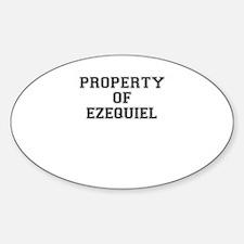 Property of EZEQUIEL Decal