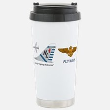 Funny Fight Travel Mug
