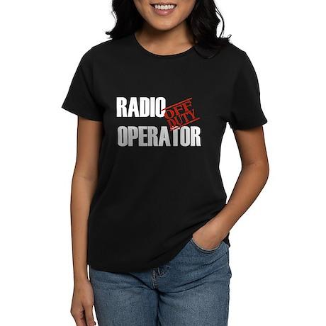 Off Duty Radio Operator Women's Dark T-Shirt