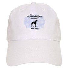 Italian Greyhounds In Heaven Baseball Cap
