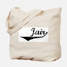 Jair Vintage (Black) Tote Bag