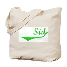 Sid Vintage (Green) Tote Bag