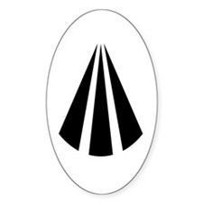 Awen Oval Decal