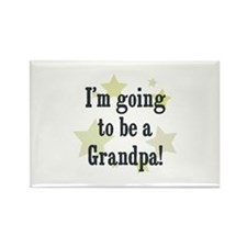 I'm going to be a Grandpa! Rectangle Magnet