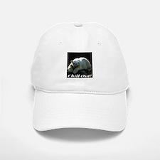 Chill Out Polar Bear Baseball Baseball Cap