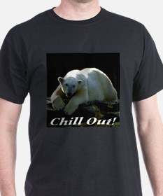 Chill Out Polar Bear T-Shirt