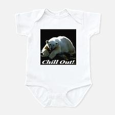 Chill Out Polar Bear Infant Bodysuit