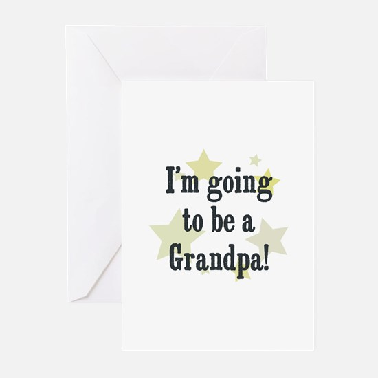 I'm going to be a Grandpa! Greeting Cards (Pk of 1