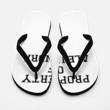 Property of ALEJANDRA Flip Flops