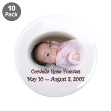 "Cordelia 3.5"" Button (10 pack)"