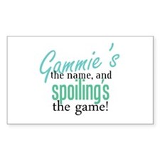 Gammie's the Name, and Spoiling's the Game! Sticke