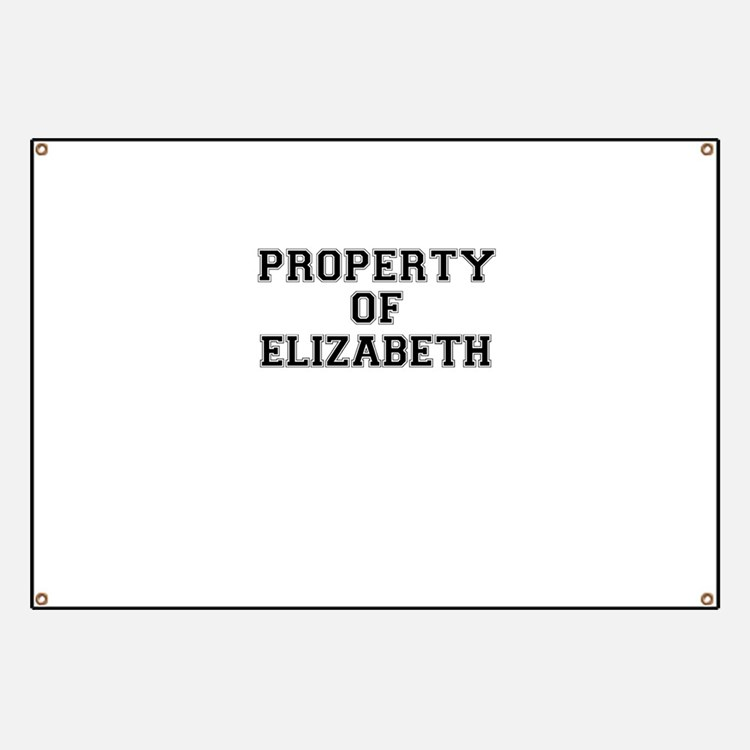 Property of ELIZABETH Banner