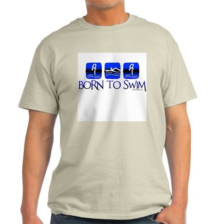 BORN TO SWIM Light T-Shirt
