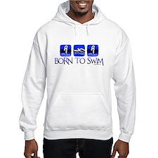 BORN TO SWIM Hoodie