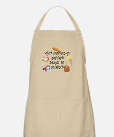 What Happens at Gammy's... BBQ Apron