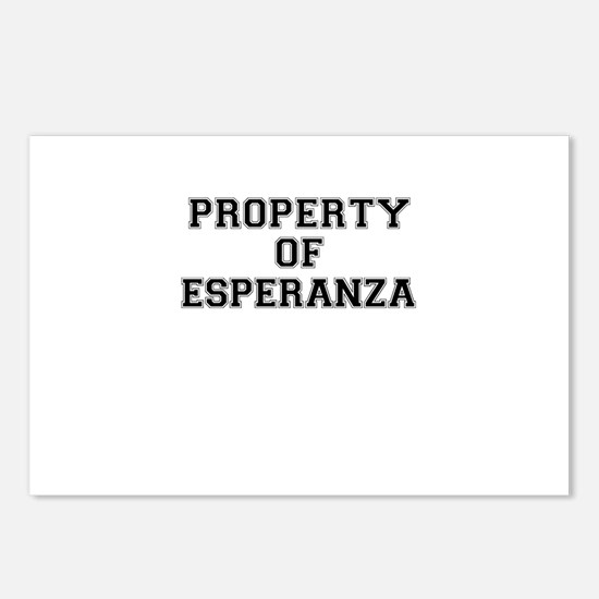 Property of ESPERANZA Postcards (Package of 8)