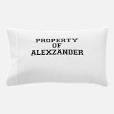 Property of ALEXZANDER Pillow Case
