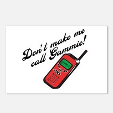 Don't Make Me Call Gammie! Postcards (Package of 8