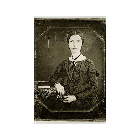 Emily Dickinson Rectangle Magnet