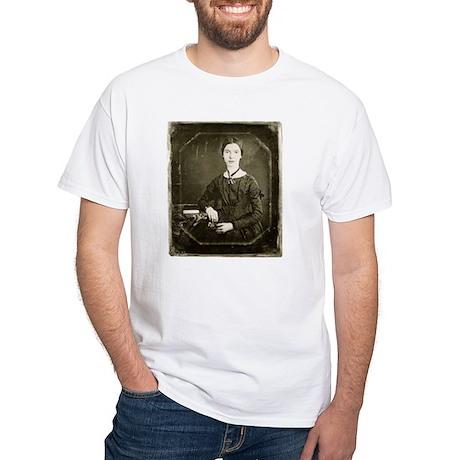 Emily Dickinson White T-Shirt