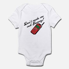 Don't Make Me Call Gammy! Baby Onesie