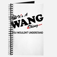 WANG thing, you wouldn't understand Journal