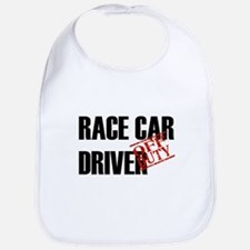 Off Duty Race Car Driver Bib
