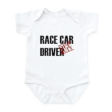 Off Duty Race Car Driver Infant Bodysuit