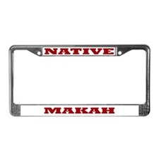 Makah Native License Plate Frame