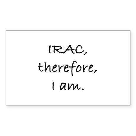 IRAC Rectangle Sticker