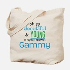 Beautiful and Young Gammy Tote Bag