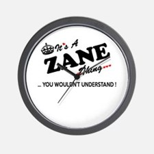 ZANE thing, you wouldn't understand Wall Clock