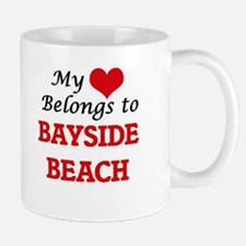 My Heart Belongs to Bayside Beach Maryland Mugs