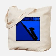 Saxaphones Rock! Tote Bag