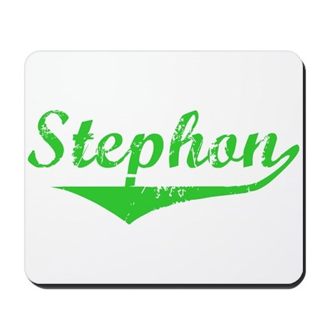 Stephon Vintage (Green) Mousepad