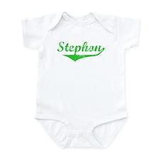 Stephon Vintage (Green) Onesie
