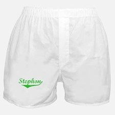 Stephon Vintage (Green) Boxer Shorts