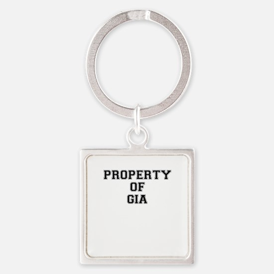 Property of GIA Keychains