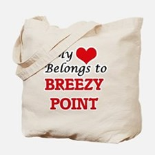 My Heart Belongs to Breezy Point Maryland Tote Bag