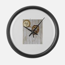 Cute Cold weather Large Wall Clock