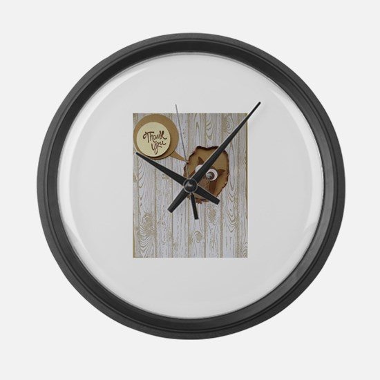 Funny Cold weather Large Wall Clock
