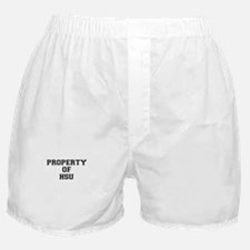 Property of HSU Boxer Shorts