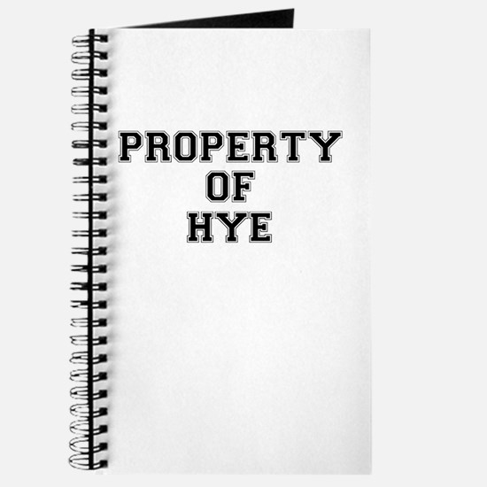 Property of HYE Journal