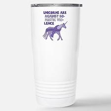 Unicorns Are Against Do Stainless Steel Travel Mug