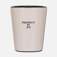 Property of JLO Shot Glass