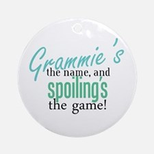 Grammie's the Name, and Spoiling's the Game! Ornam