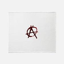 Anarchy Throw Blanket