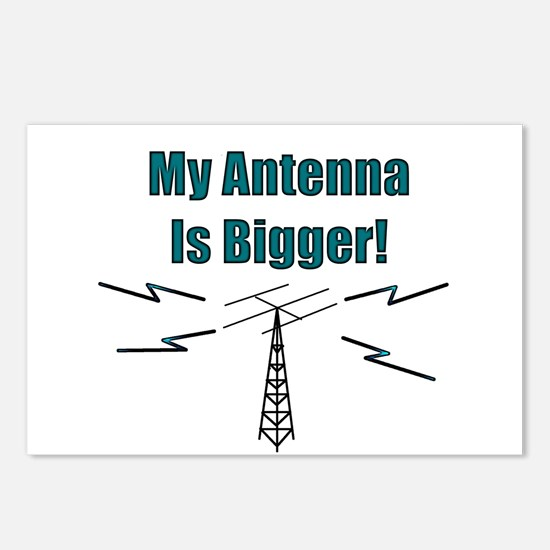 My Antenna Is Bigger! Postcards (Package of 8)