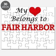 My Heart Belongs to Fair Harbor New York Puzzle