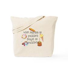 What Happens at Grammie's... Tote Bag